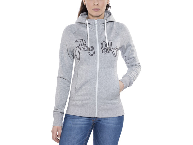 Haglöfs Norbo Hood Women grey melange